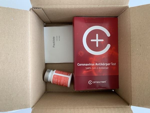 Coronavirus Antikörper Test Inhalt