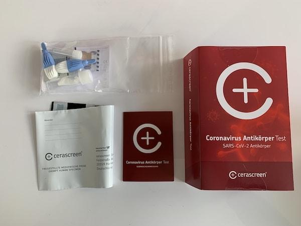 Coronavirus Antikörper Test Testzubehör