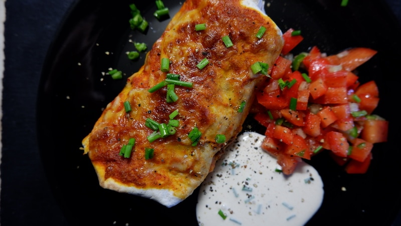 Enchiladas Tomatensalsa