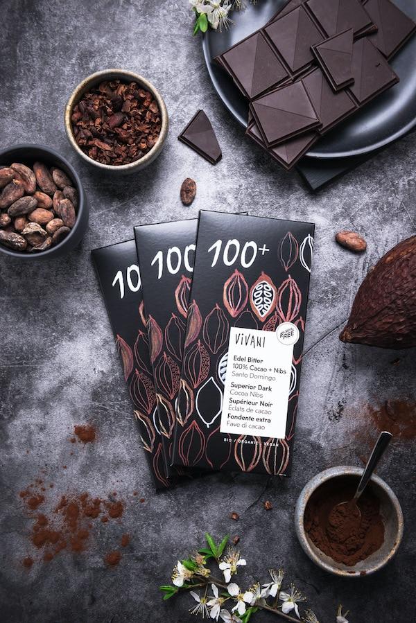 EdelBitter Vivani Schokolade