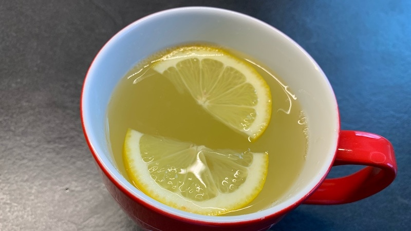 Zitronen-Ingwer-Tee